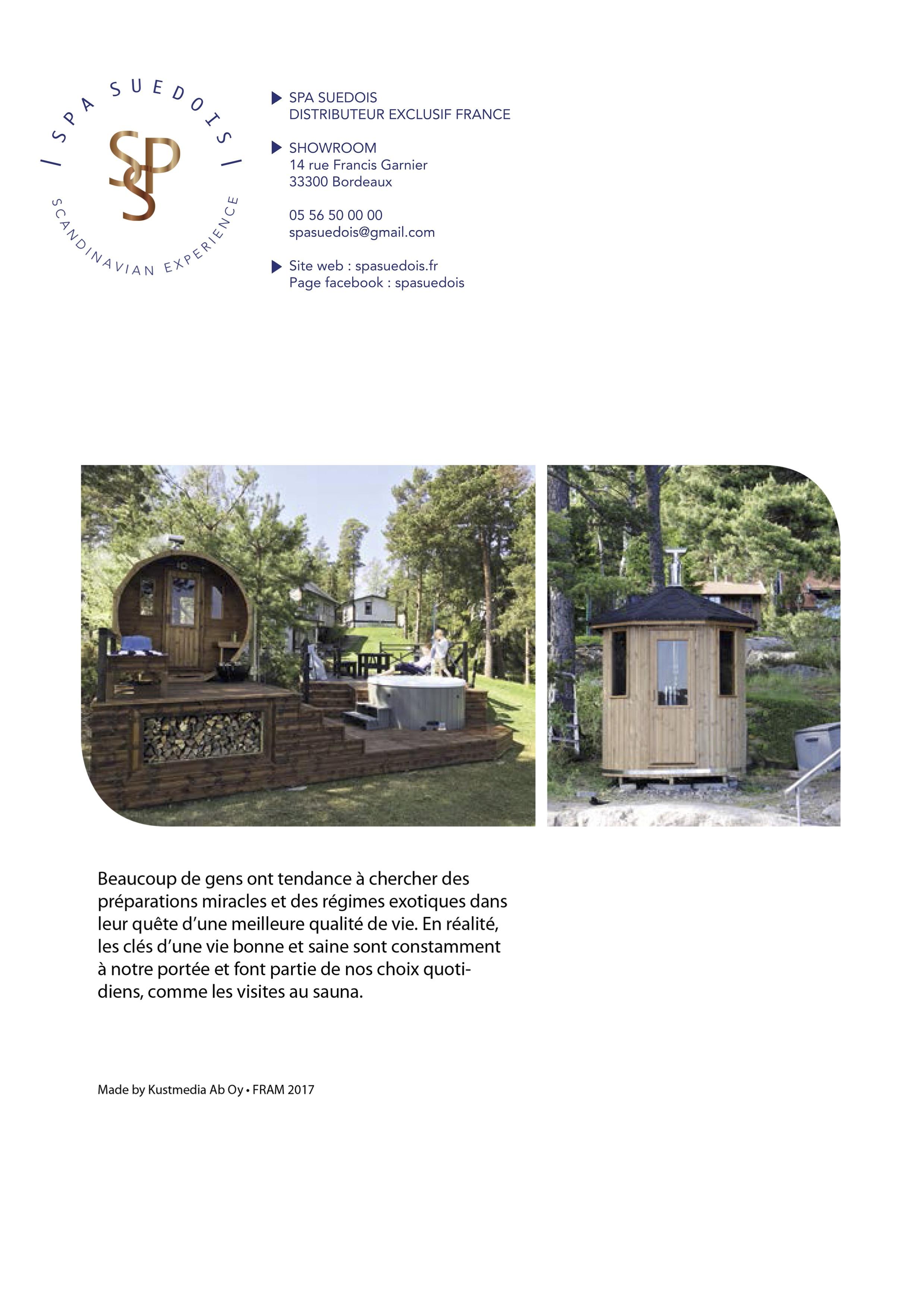 sauna finlandais une vraie experience scandinave. Black Bedroom Furniture Sets. Home Design Ideas