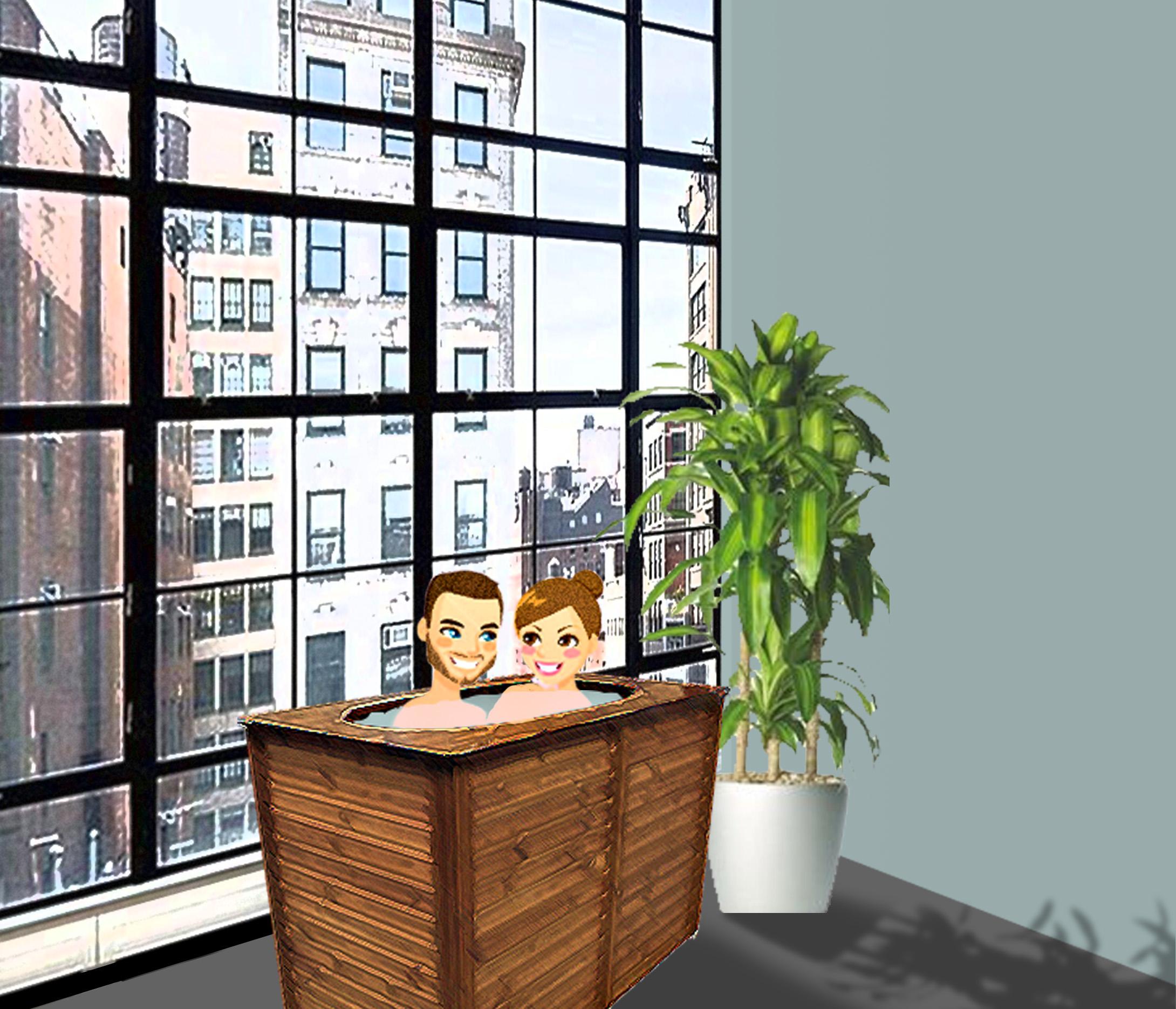 un spa pour deux personnes qui va revolutionner votre quotidien. Black Bedroom Furniture Sets. Home Design Ideas