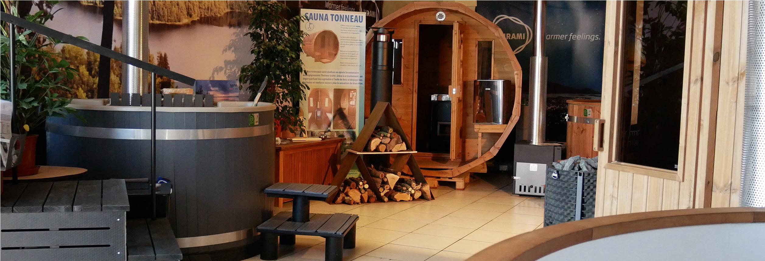 bienvenue dans notre showroom spa et sauna de bordeaux. Black Bedroom Furniture Sets. Home Design Ideas